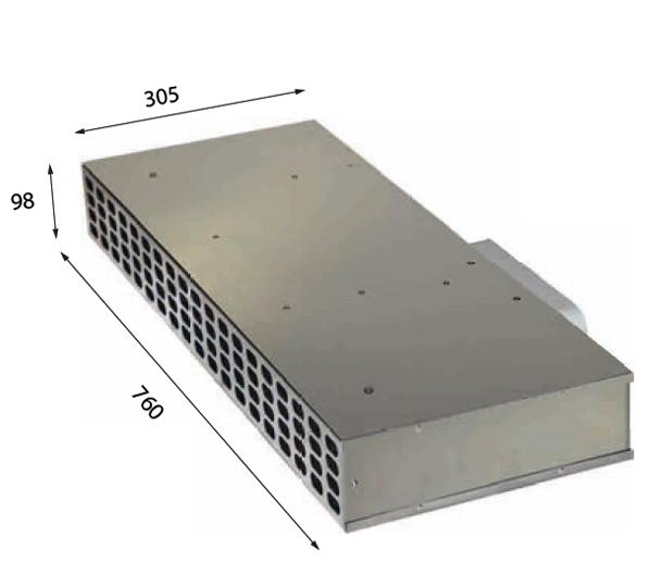 1019 760 – Plasma-Sockelfilter mit Drucksensor zum Anschluss an Interia Premium, EVO 01, EVO 02, EVO 02 Eco, EVO 03, MoveUp und Fremdgeräte